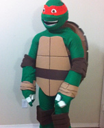 Teenage Mutant Ninja Turtle Homemade Costume