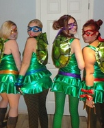 Group costume ideas - Teenage Mutant Ninja Turtles Costume