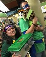 Teenage Mutant Ninja Turtles Homemade Costume