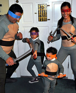 Teenage Mutant Ninja Turtles Homemade Costume