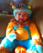 Teeny Meanie Monster Baby Costume