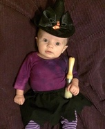 Teeny Tiny Witch Costume