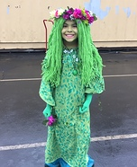 TeFiti from Moana Homemade Costume