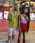 Tekashi 69 and Nicki Homemade Costume