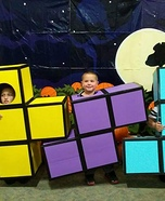 Tetris Kids Homemade Costume