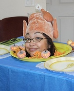 Thanksgiving Dinner Homemade Costume