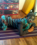 Homemade Cheshire Cat Costume