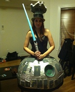 Death Star Homemade Costume