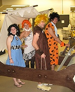 Group costume ideas - The Flintstone Family Costume