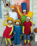 Family costume ideas - The Simpsons Family Costume