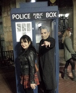 The 12th Doctor and Clara Homemade Costume