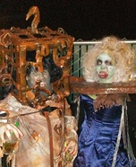 The 13 Ghosts Pilgrimess and Jackal Homemade Costume