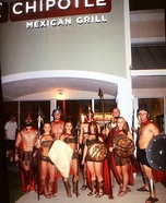 The 300 Spartans Homemade Costume