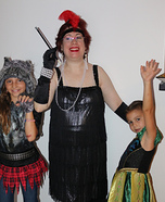 The 50's Flapper with Anna & Wolfgirl Homemade Costume