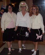 The 50s Girls Homemade Costume
