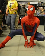 The Amazing Spiderman Homemade Costume