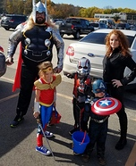 The Avengers Homemade Costume