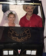 The Bandit and Carrie Homemade Costume