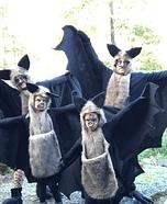 The Bat Family Homemade Costume