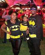 The Batman Family Homemade Costume