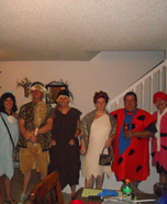Homemade Flintstones Costumes