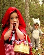 Cutest Halloween costumes for babies - Little Red Riding Hood & Big Bad Wolf