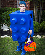 The Blue Lego Halloween Costume