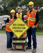 The Boo-chanan Construction Company Homemade Costume