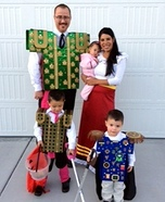 The Book of Life Family Homemade Costume