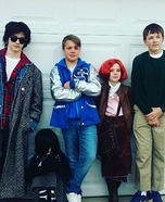 The Breakfast Club Homemade Costume