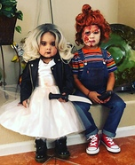 The Bride of Chucky Homemade Costume
