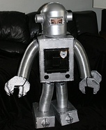 The Ca-Leb Bot Robot Homemade Costume