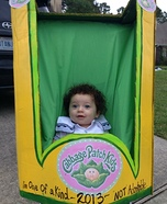 The Cabbage Patch Doll Homemade Baby Costume