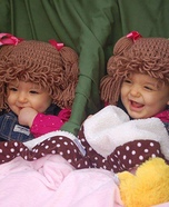 The Cabbage Patch Twins Homemade Costume
