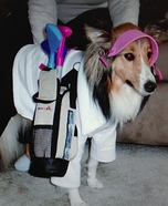 The Caddy Dog Homemade Costume