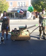 The Camo Family Costume