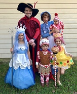 The Candy Land Crew Homemade Costume