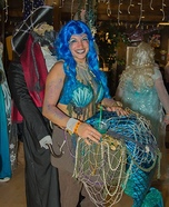 The Captured Mermaid Homemade Costume