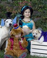 The cast of Aladdin Homemade Costume