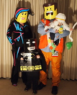 Fun family Halloween costume ideas - The Cast of the Lego Movie Family Costume
