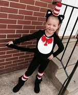 The Cat in the Hat Costume DIY