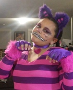 The Cheshire Cat Homemade Costume