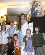 The Chronicles of Narnia Family Homemade Costume