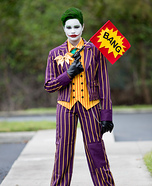 The Classic Joker Homemade Costume