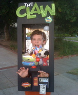Homemade Claw Machine costume