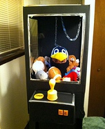 Homemade Claw Game Costume