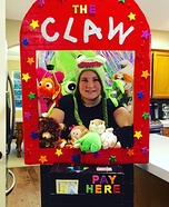 The Claw Machine Homemade Costume