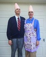 The Coneheads Homemade Costume