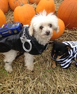 The Convict and the Police Dogs Homemade Costume