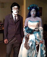 The Corpse Bride Couples Costume